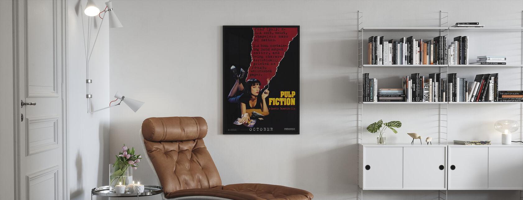 Pulp Fiction - Kehystetty kuva - Olohuone