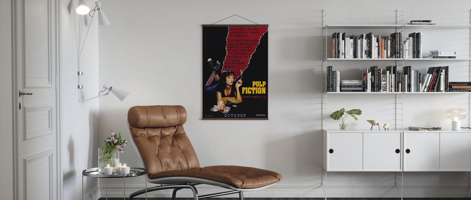 Pulp Fictie - Poster - Woonkamer