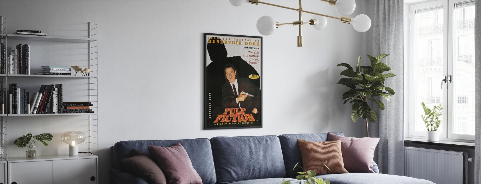 John Travolta in Pulp Fiction - Poster - Living Room