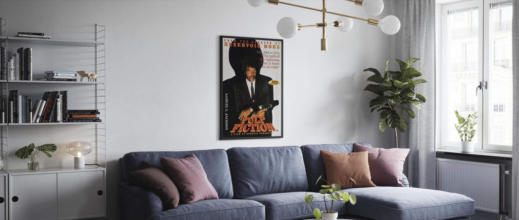Samuel L Jackson en Pulp fictie - Poster - Woonkamer