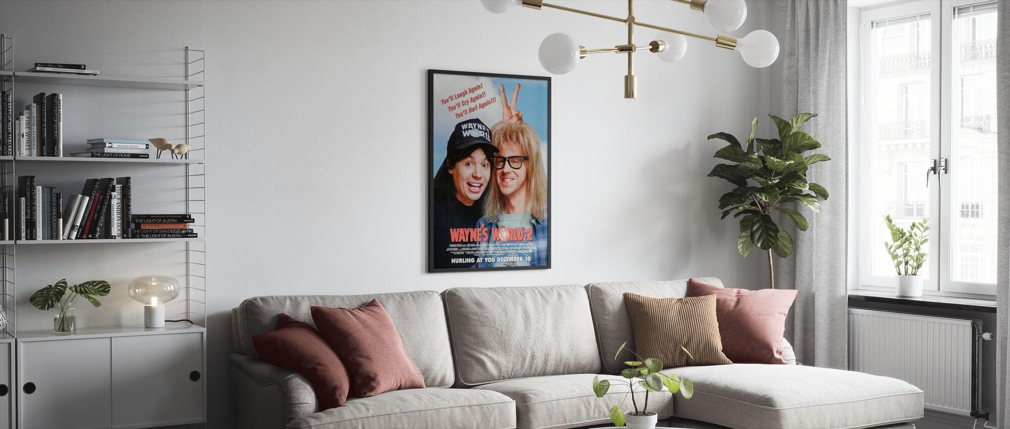 Waynes World 2 - Poster - Living Room