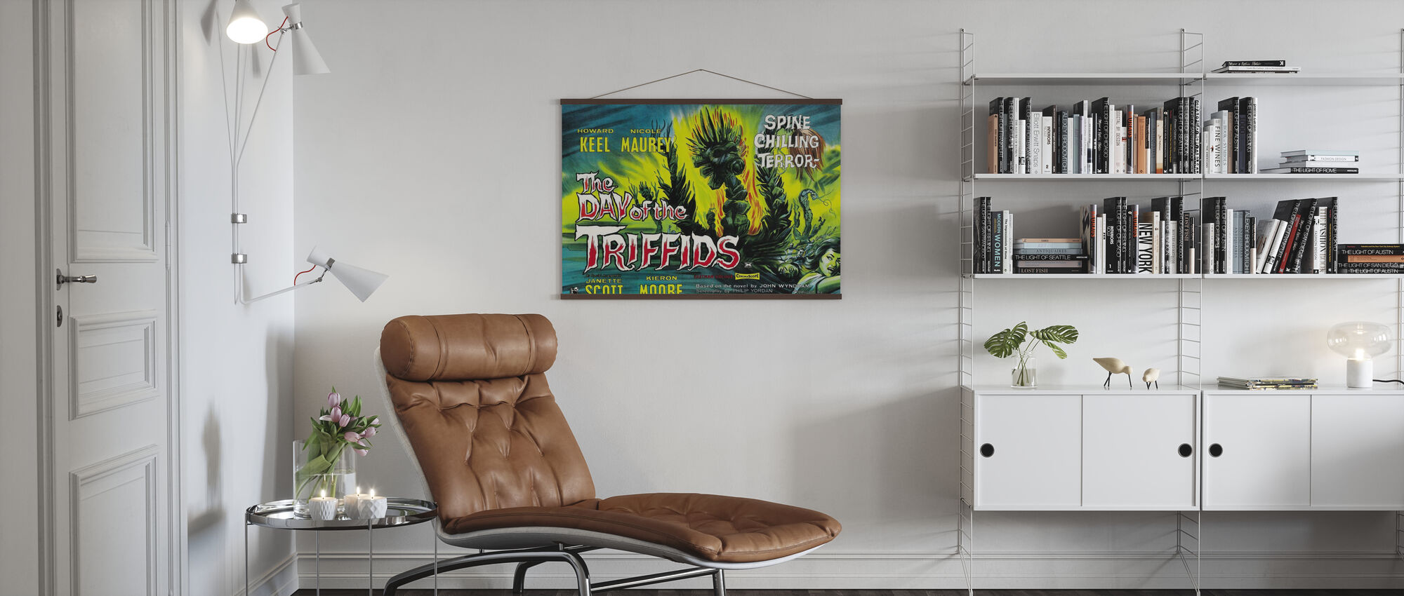 Dag van de Triffids - Poster - Woonkamer