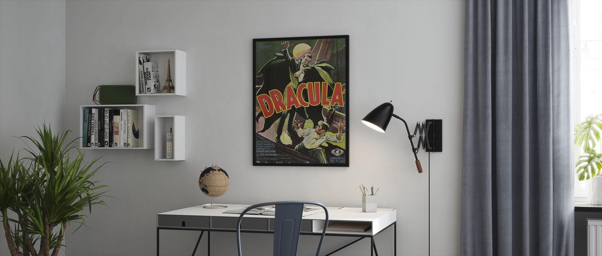 Dracula - Framed print - Office