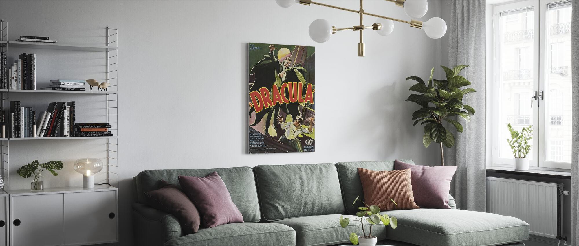 Dracula - Canvas print - Living Room