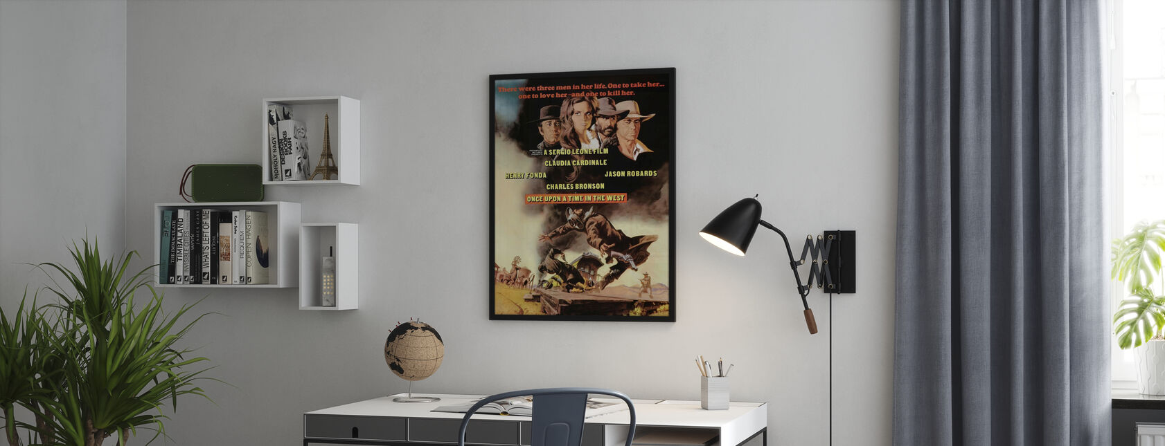 Once Upon a Time in the West - Poster - Office