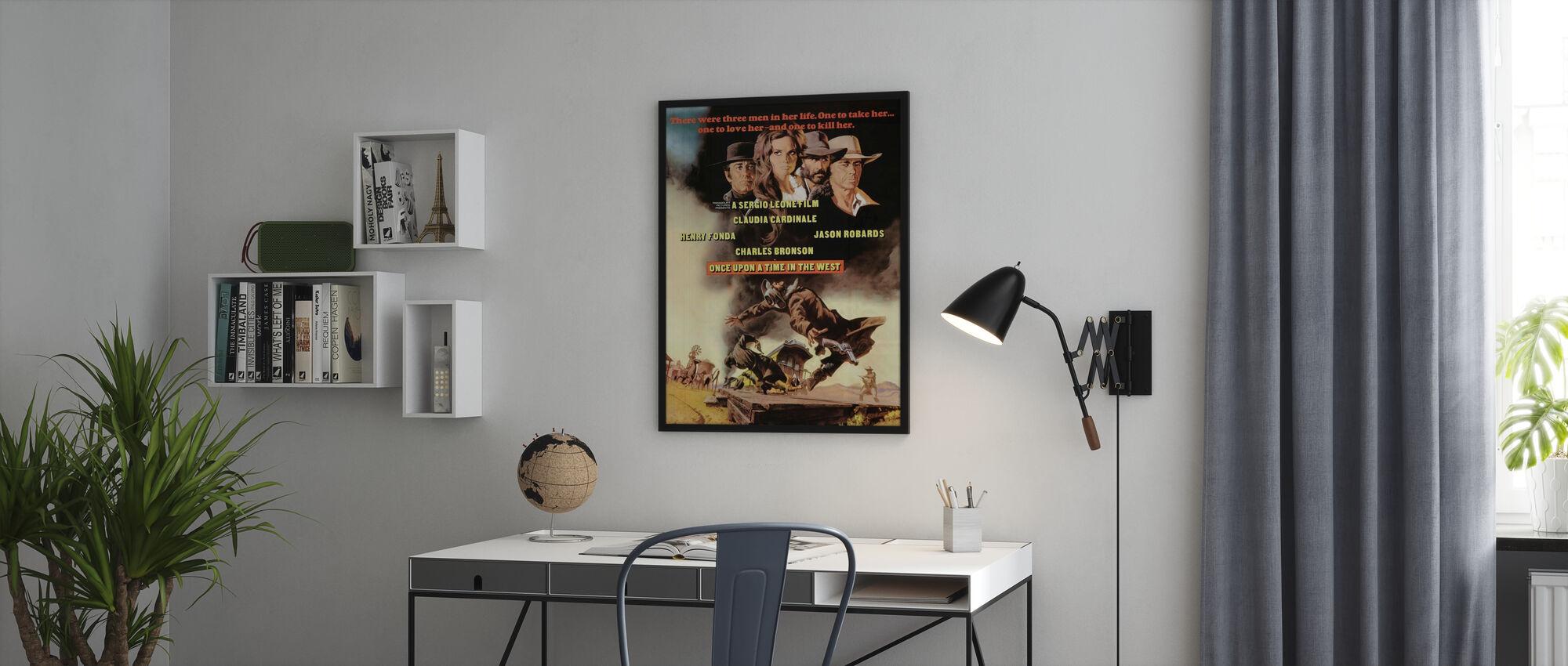 En gång i väst - Poster - Kontor