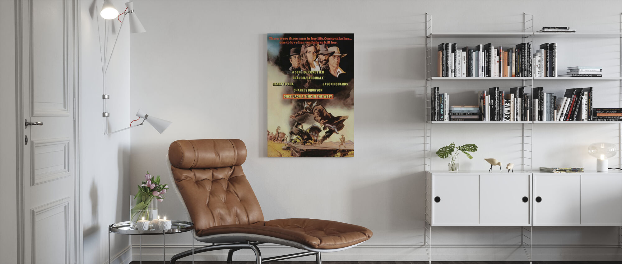 Once Upon a Time in the West - Canvas print - Living Room
