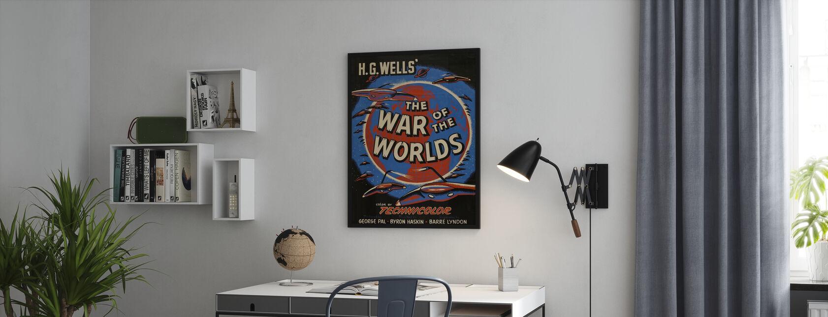 Wojna światów - Plakat - Biuro