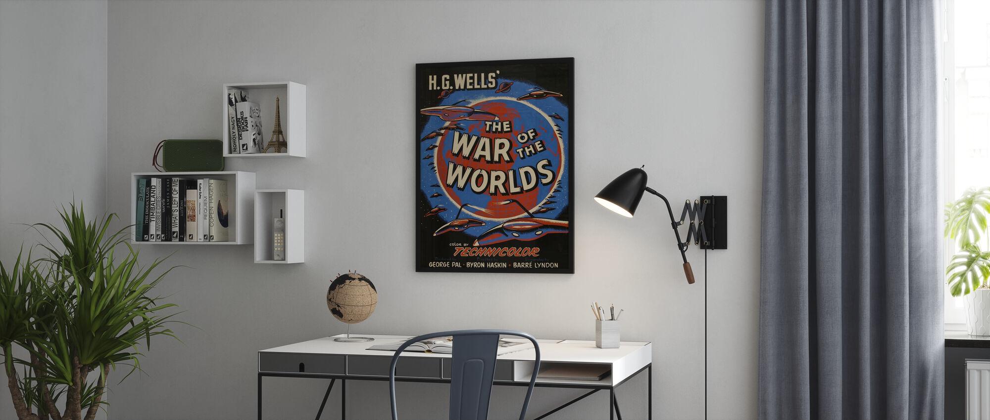 Oorlog van de Werelden - Poster - Kantoor