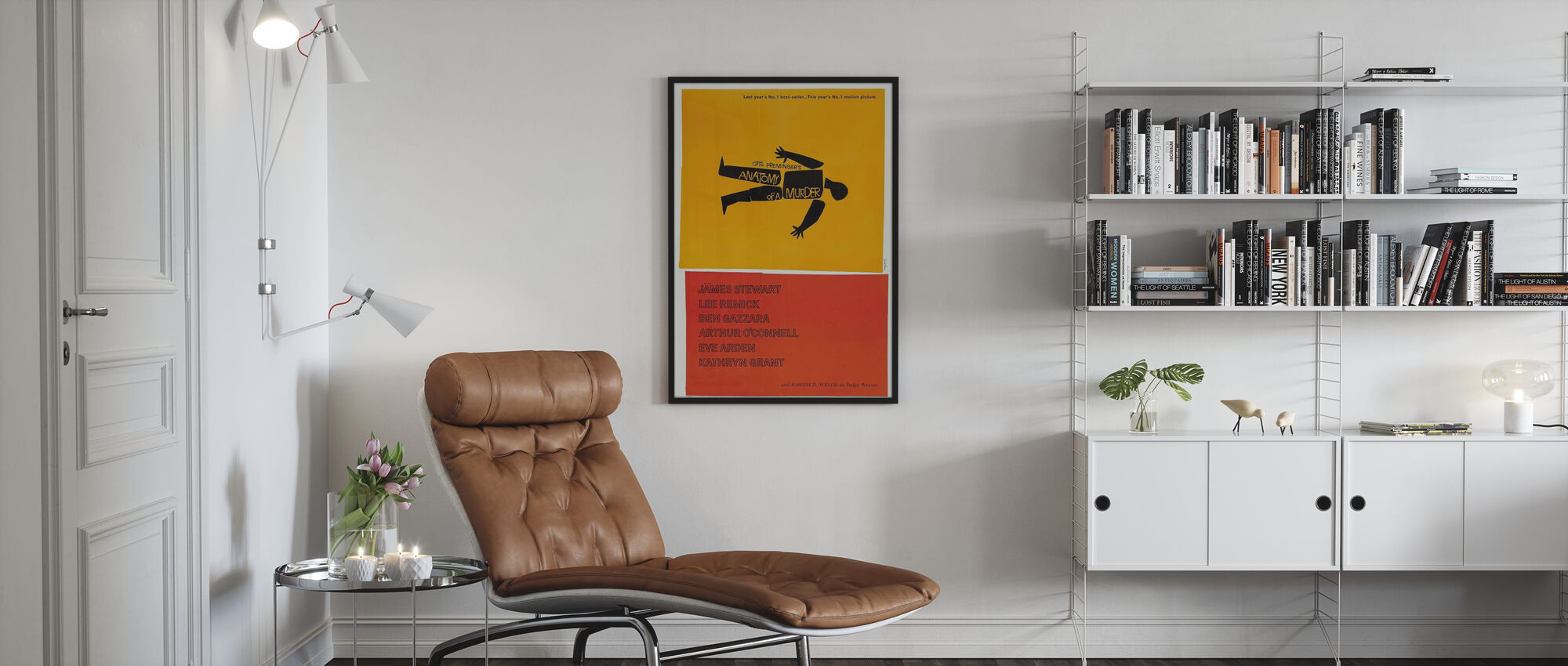 Anatomy of a Murder - Poster - Living Room