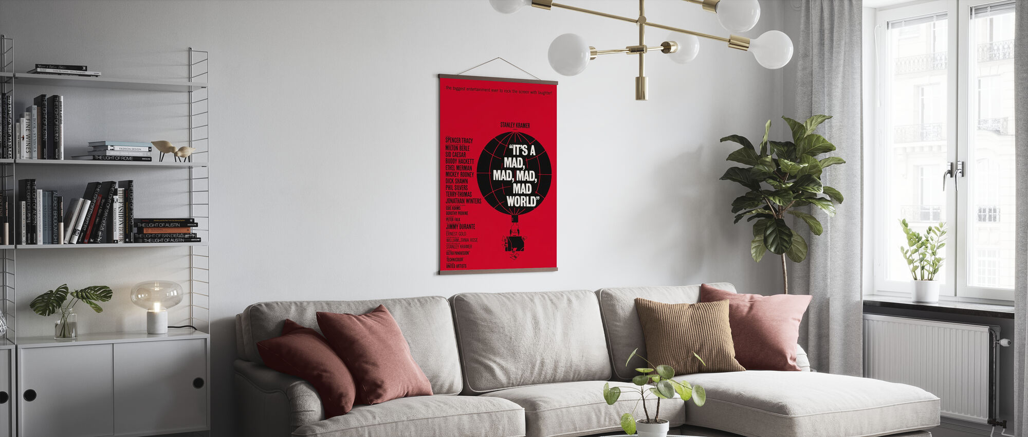 Its a Mad Mad Mad Mad World - Poster - Living Room