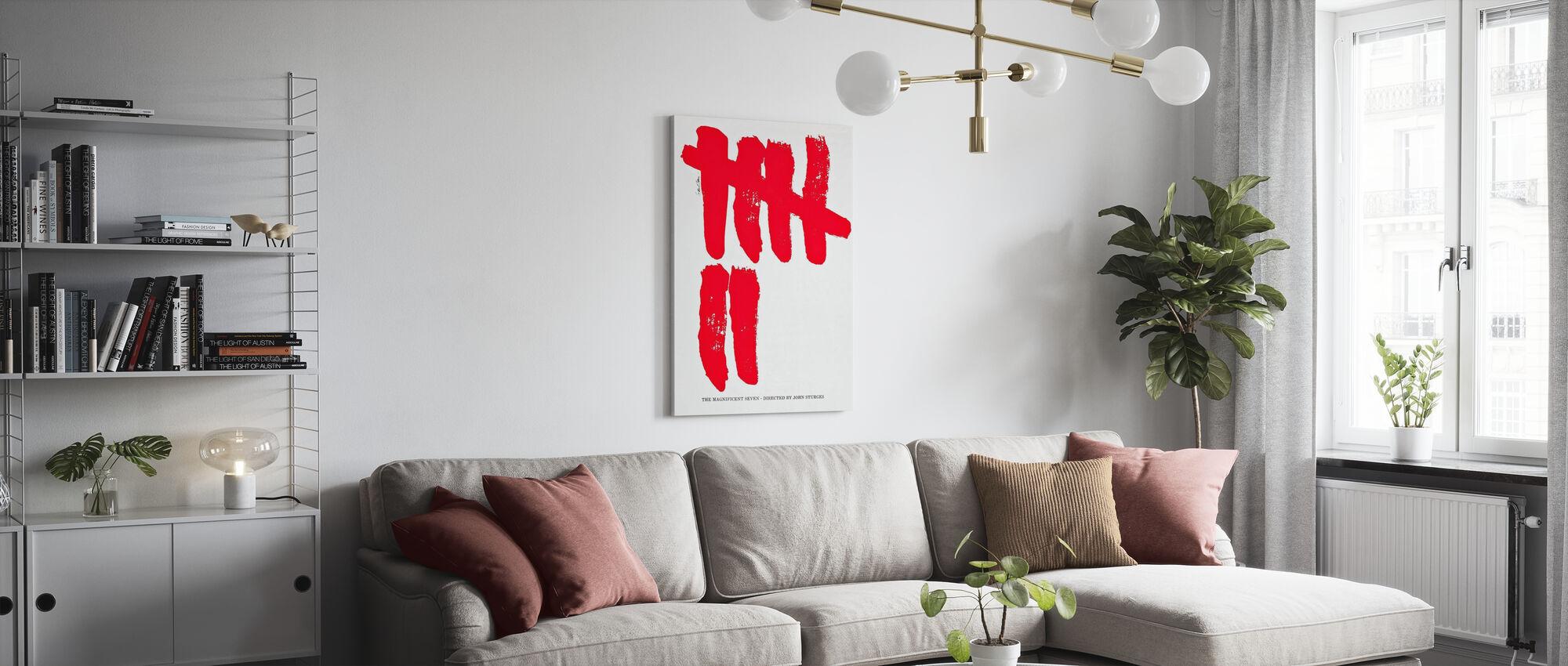 Magnificent Seven - Canvas print - Living Room