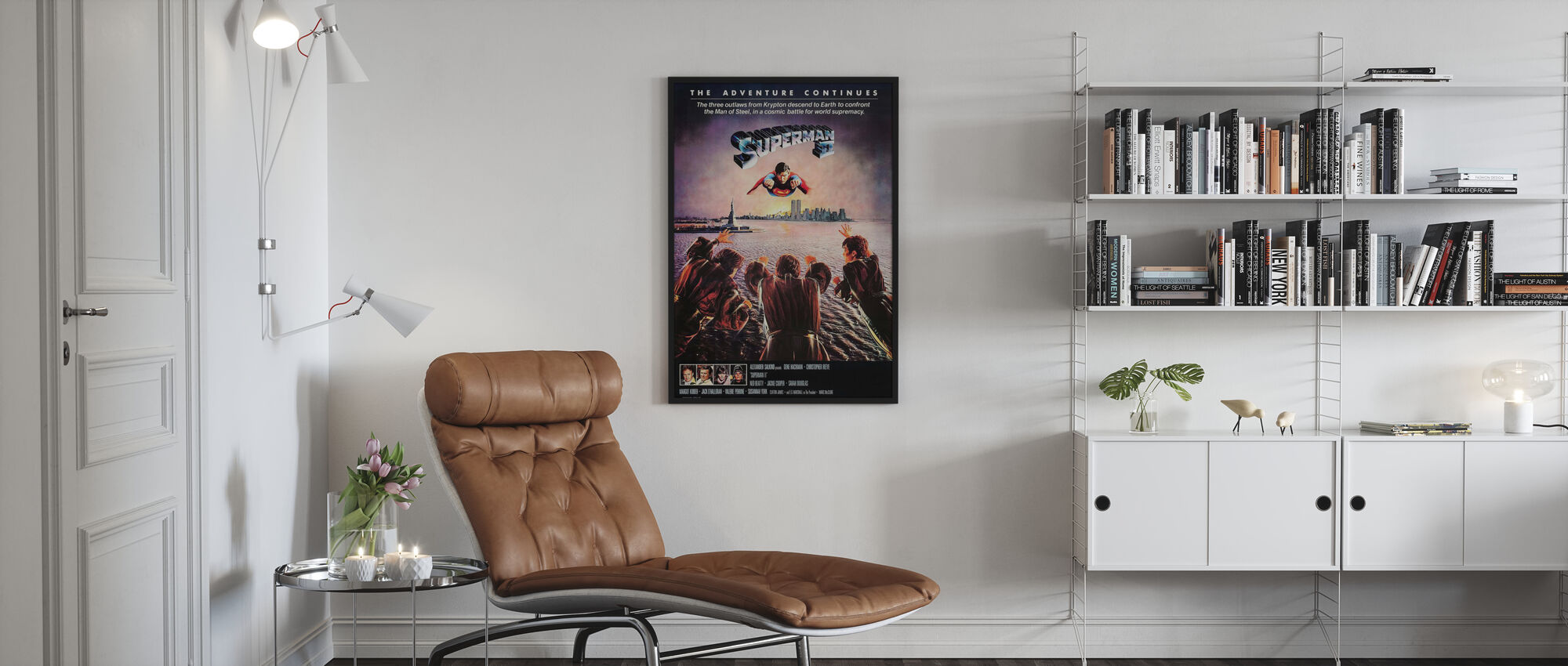 Superman II - Poster - Living Room