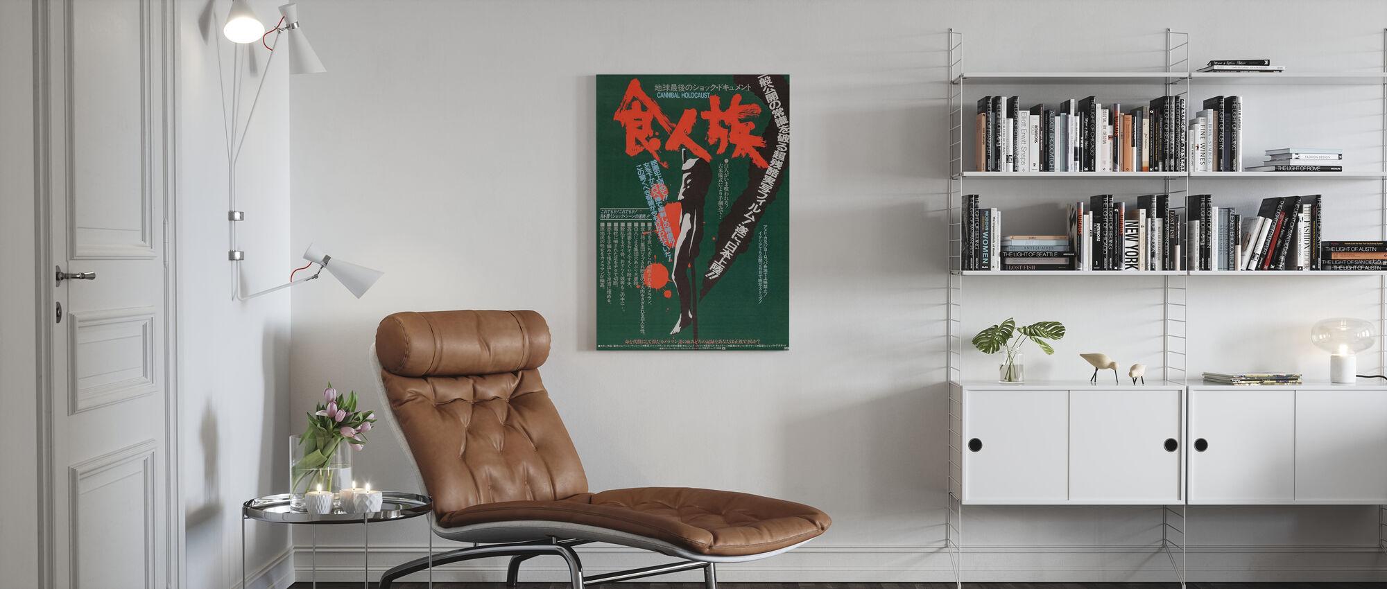 Cannibal Holocaust - Canvas print - Living Room