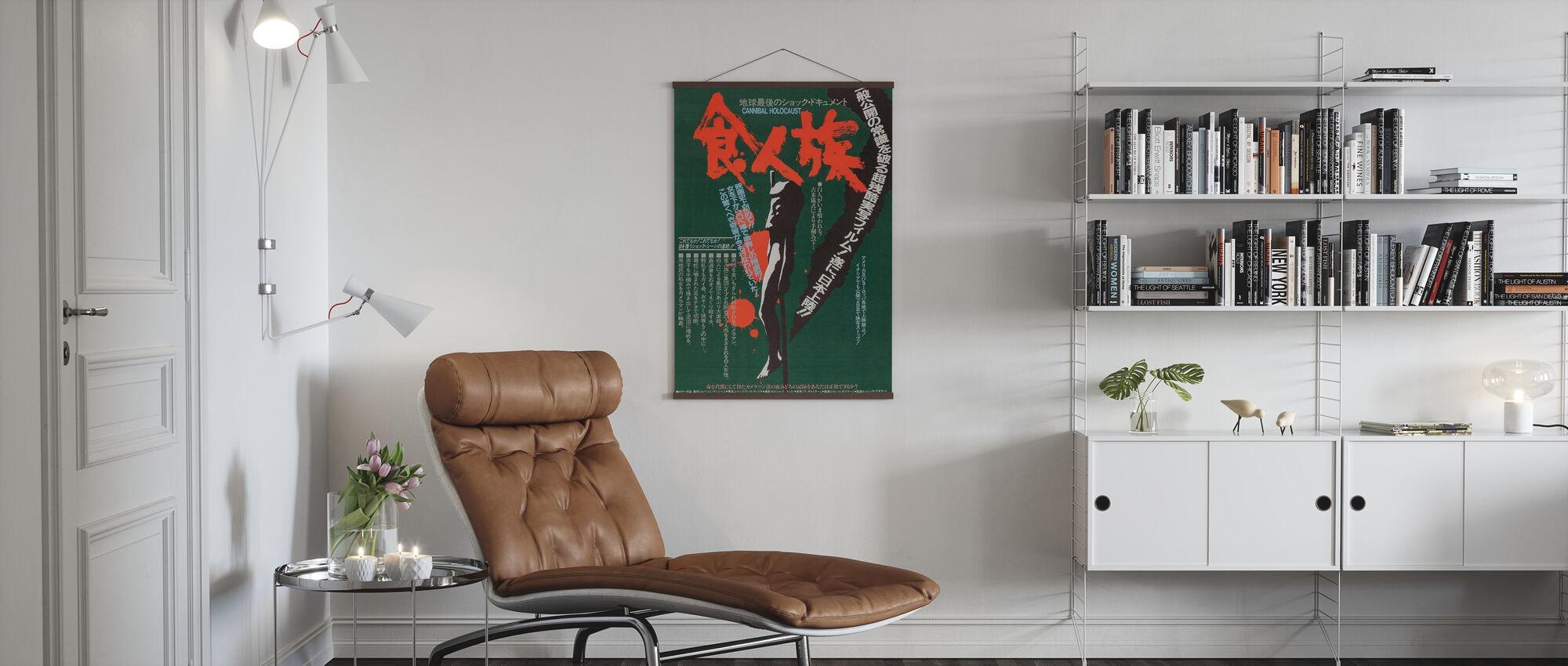 Kannibal Holocaust - Plakat - Stue