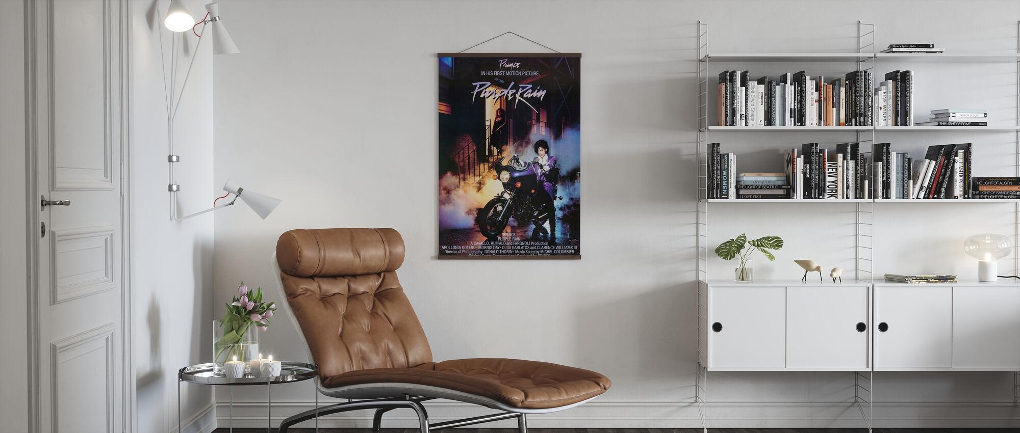 Prince in Purple Rain - Poster - Living Room