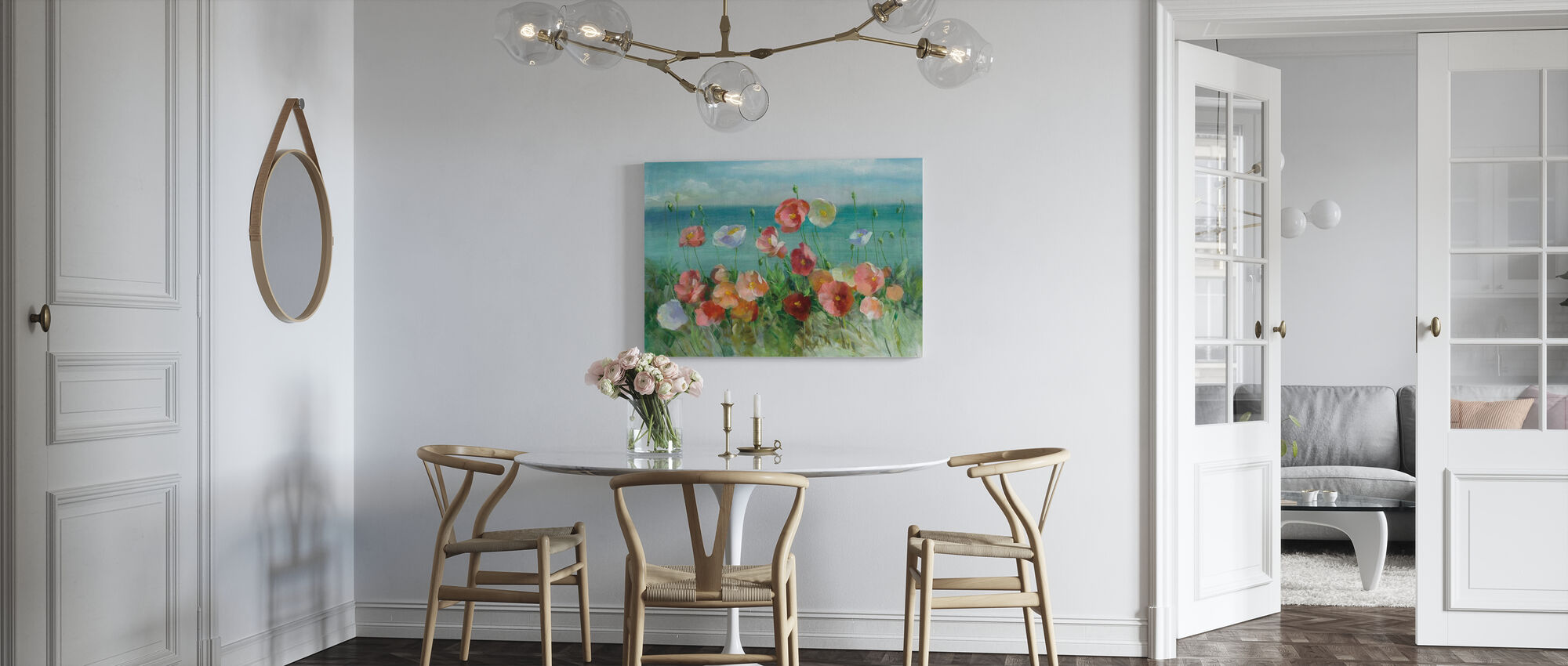 Coastal Poppies - Canvas print - Kitchen