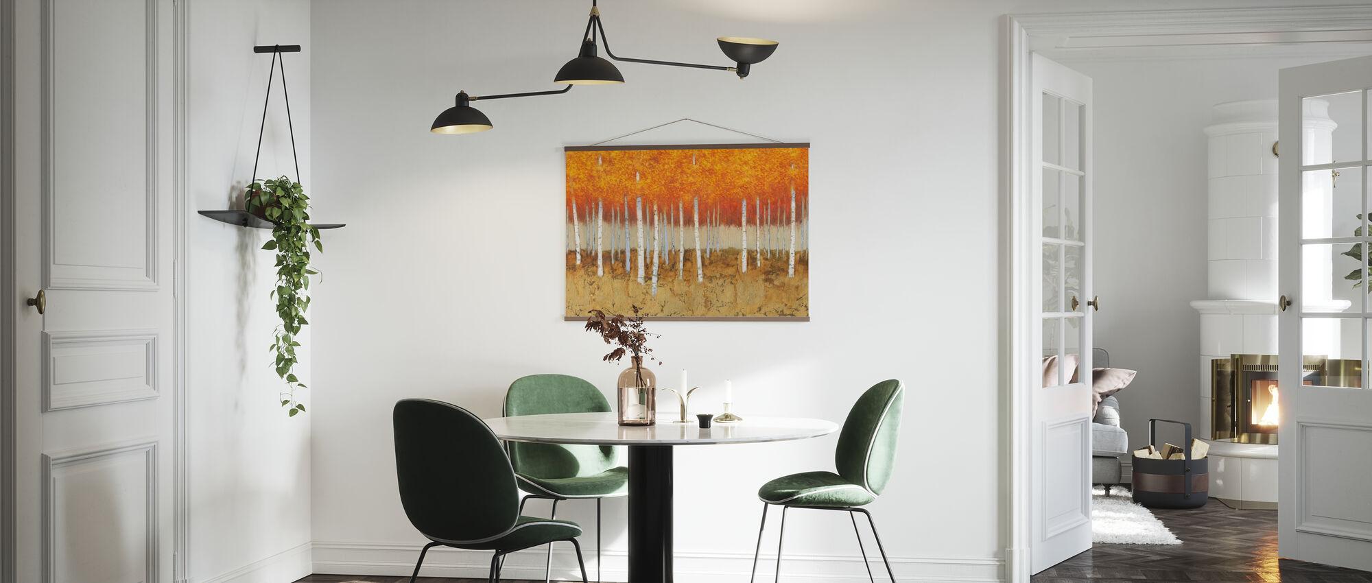 Autumn Birches - Poster - Kitchen