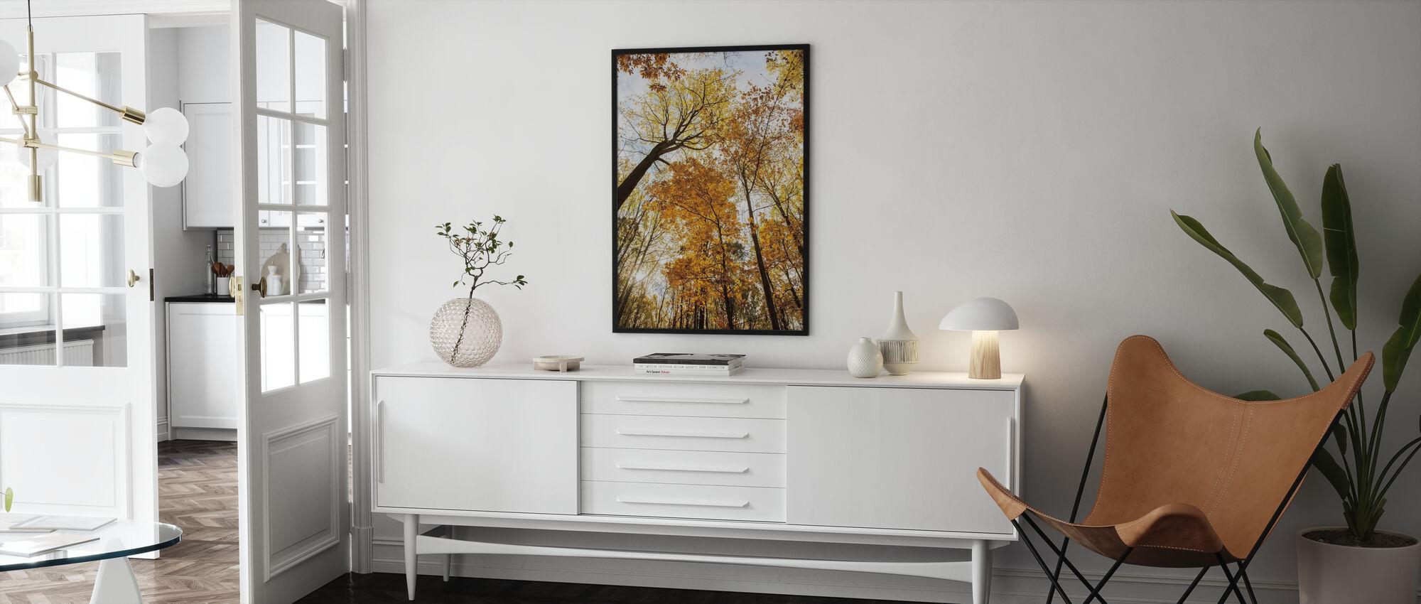 tårnhøje træer II - Plakat - Stue
