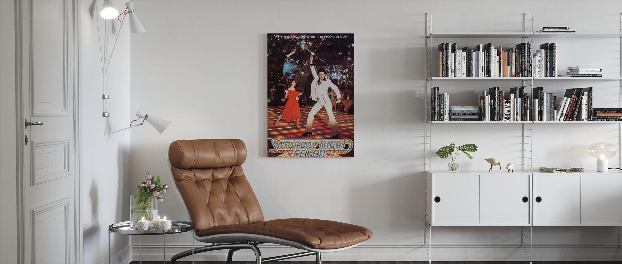Saturday Night Fever - Canvas print - Living Room