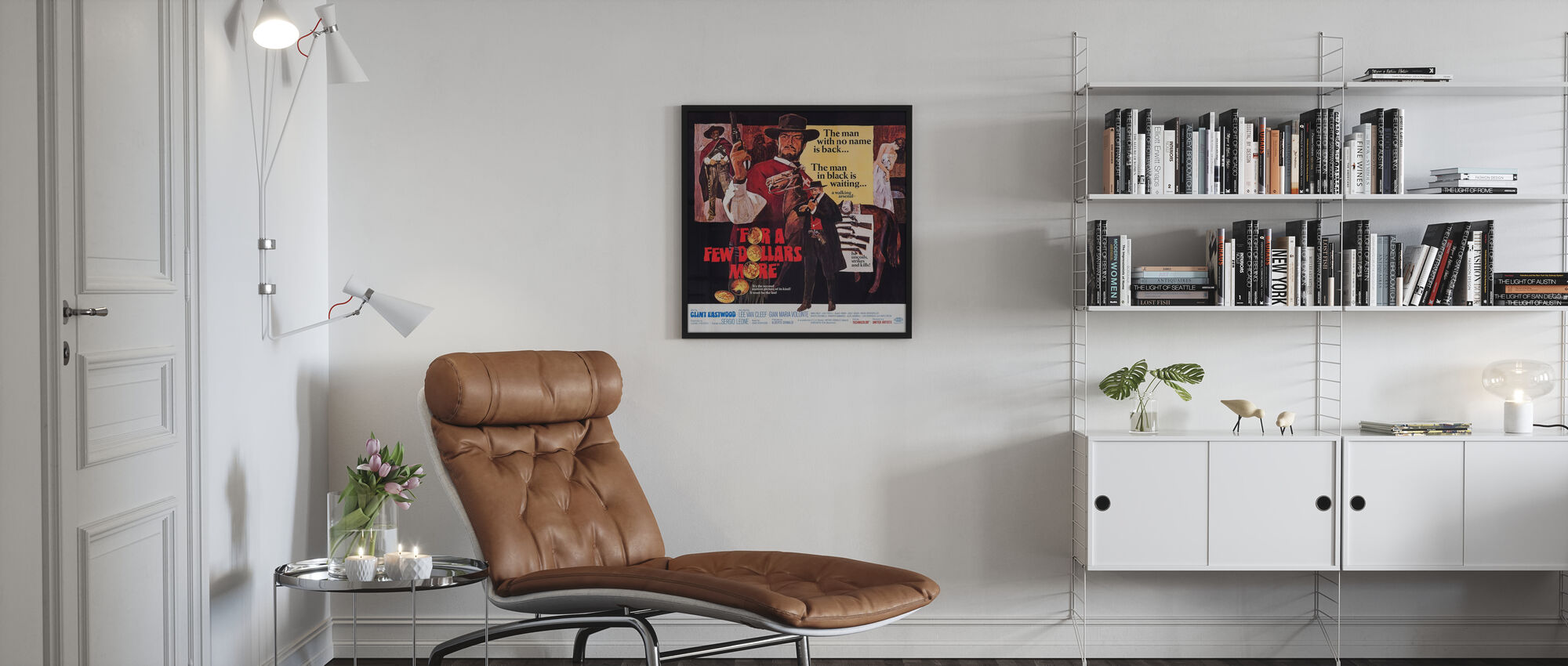 For a Few Dollars More - Framed print - Living Room