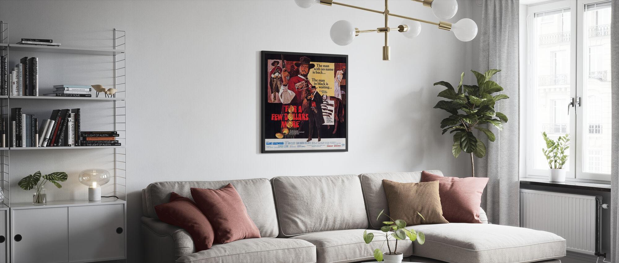 Voor een paar Dollars Meer - Poster - Woonkamer