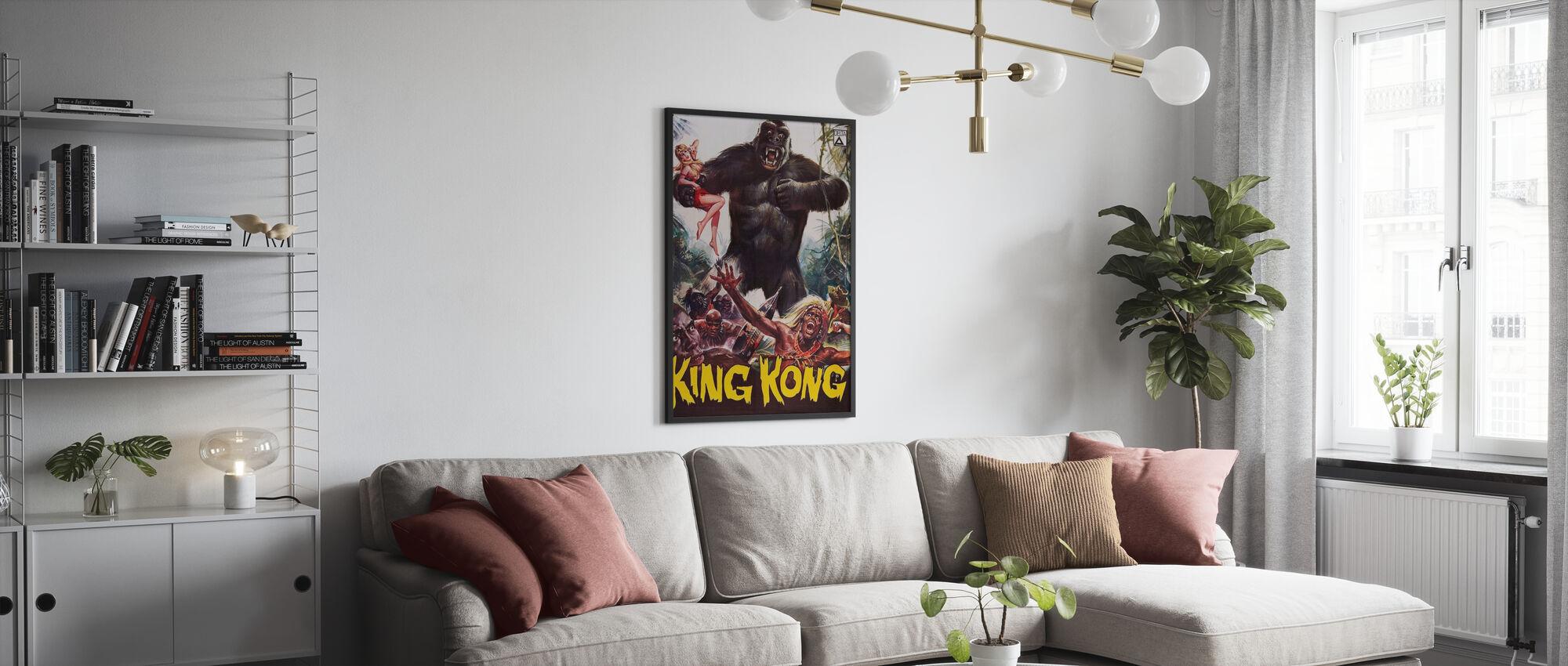 King Kong II - Poster - Wohnzimmer