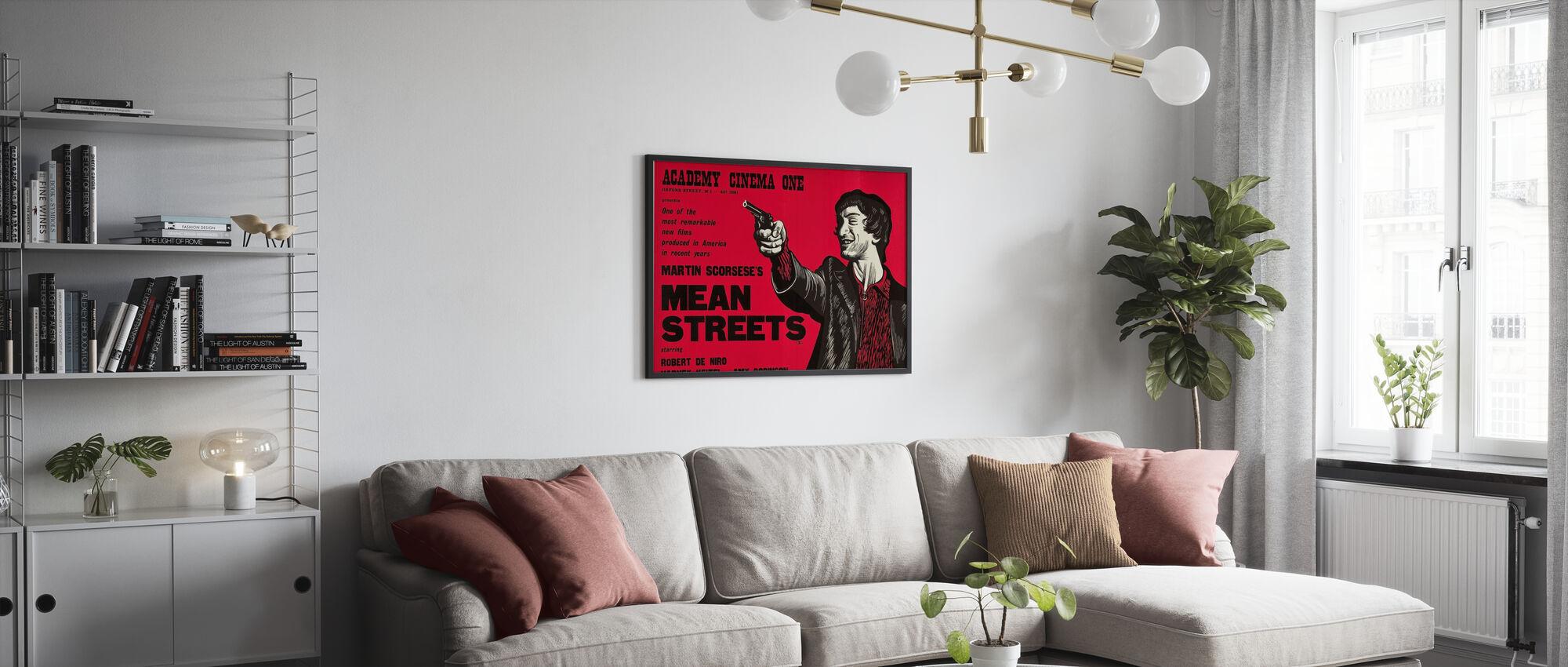 Bedoelde straten - Poster - Woonkamer