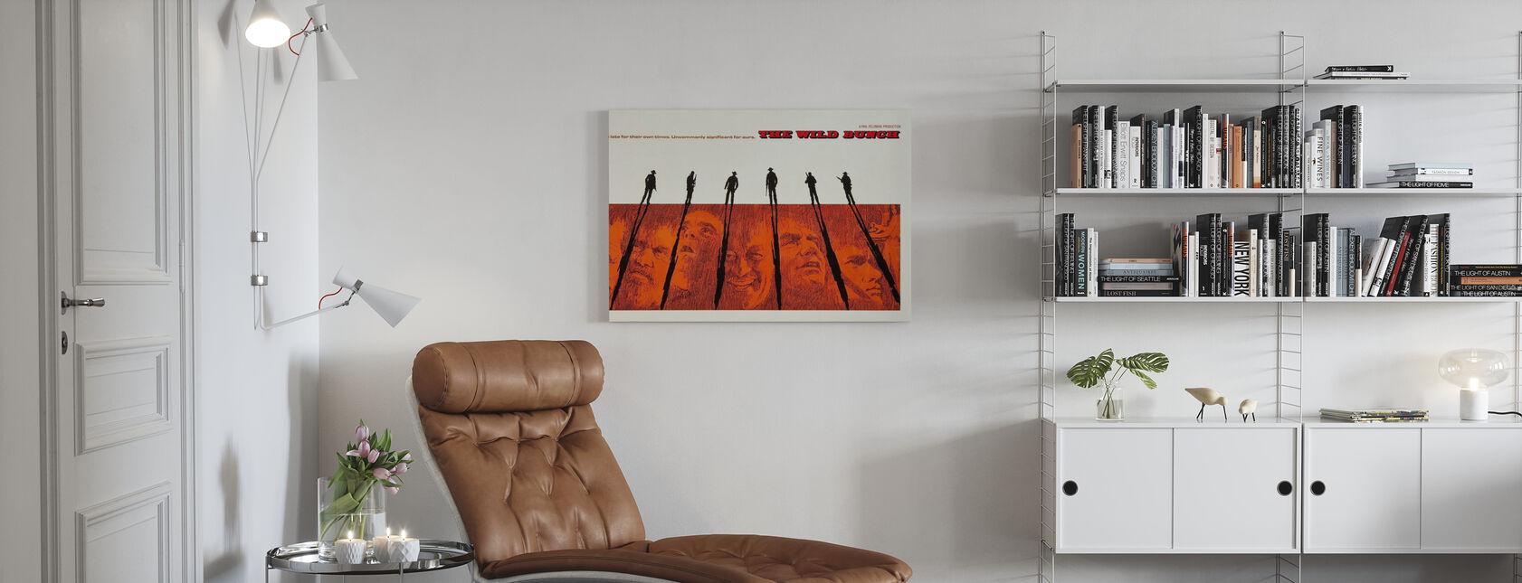 Wild Bunch - Canvas print - Living Room