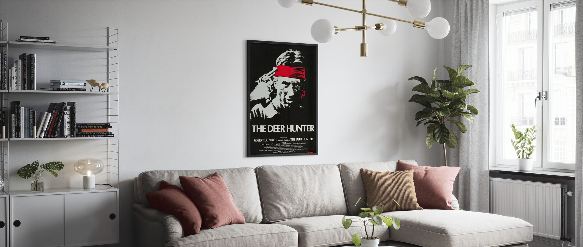Hertenjager - Poster - Woonkamer