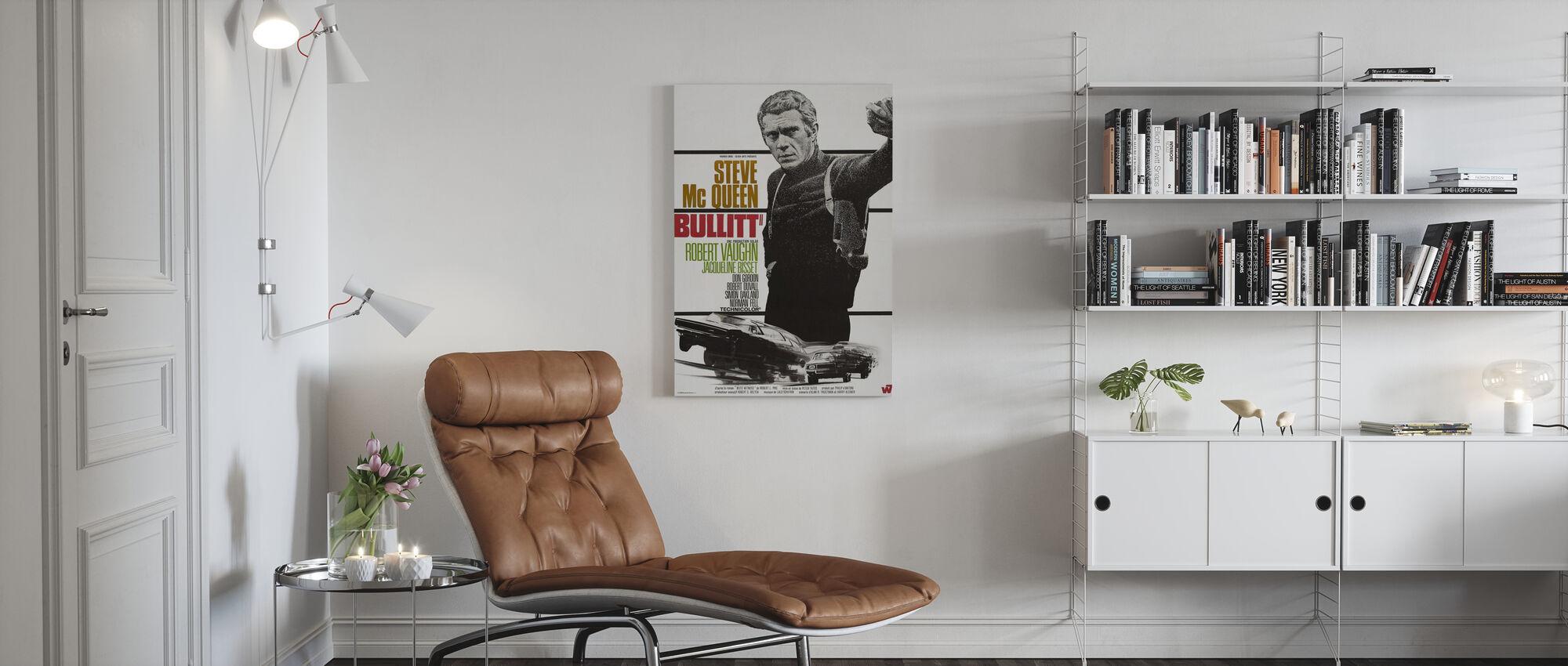 Bullitt - Canvas print - Living Room