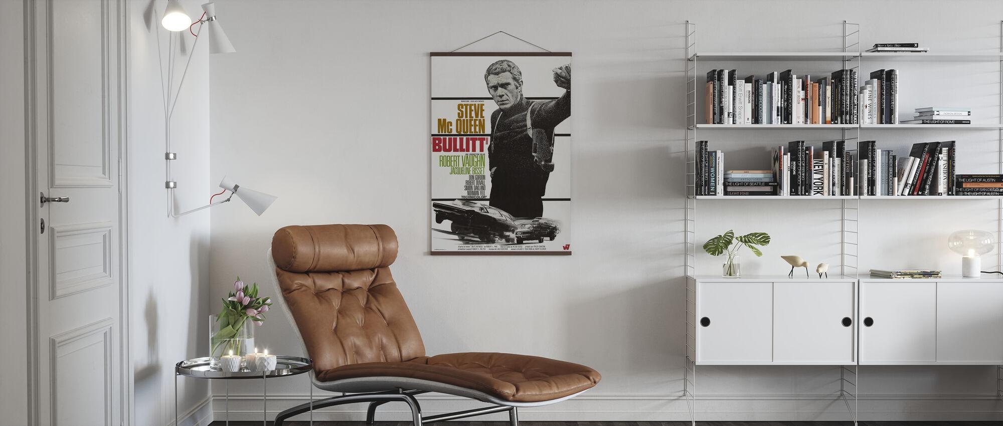Bullitt - Poster - Living Room