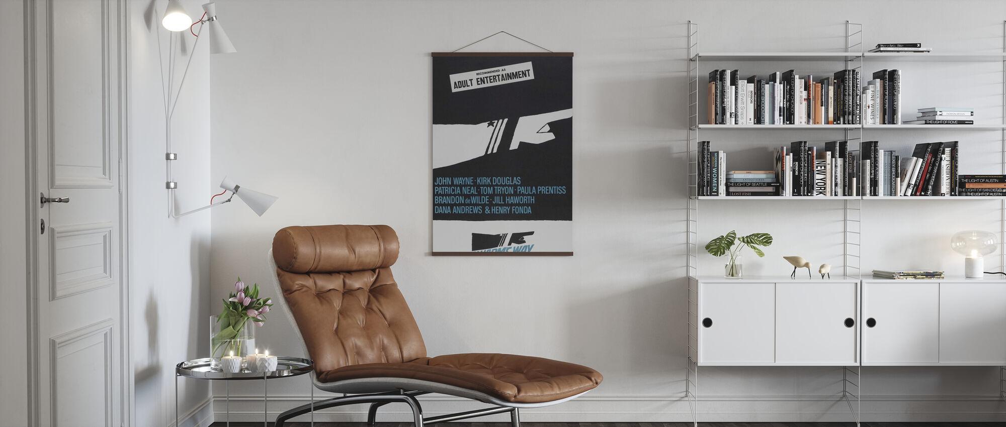 In Harm's Way - Poster - Living Room
