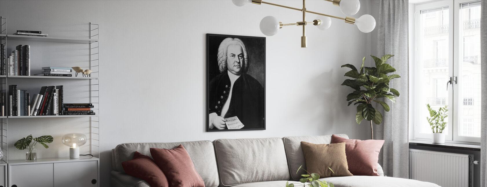 Johann Sebastian Bach - Poster - Salotto
