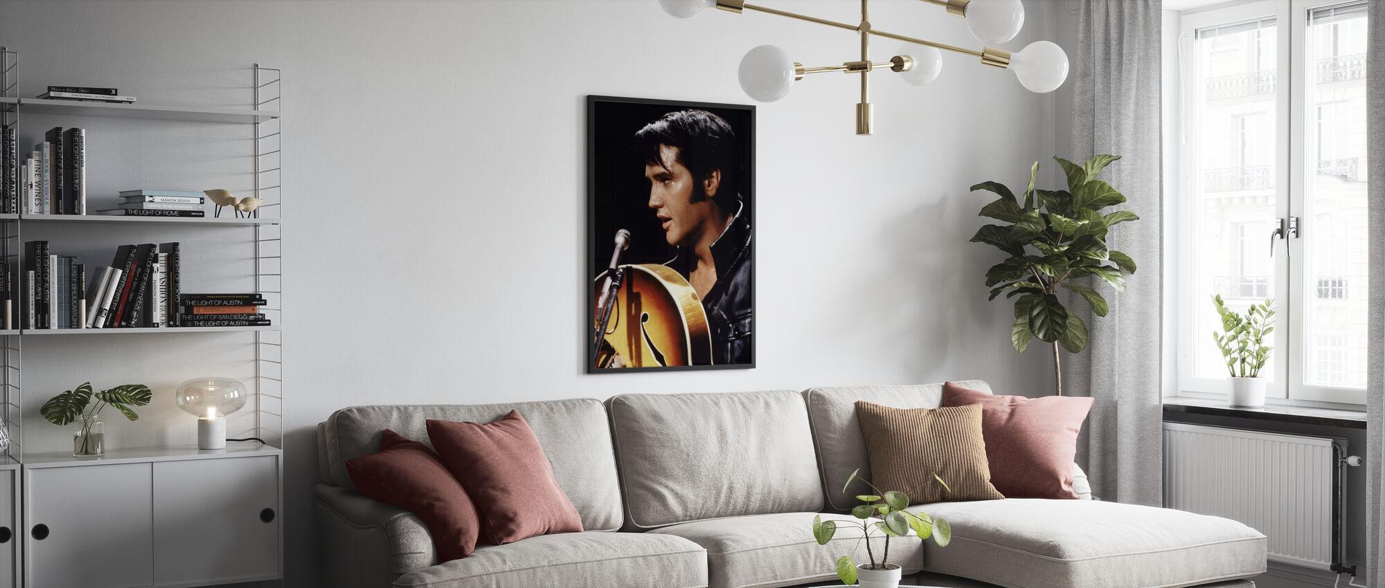 Elvis - Plakat - Pokój dzienny