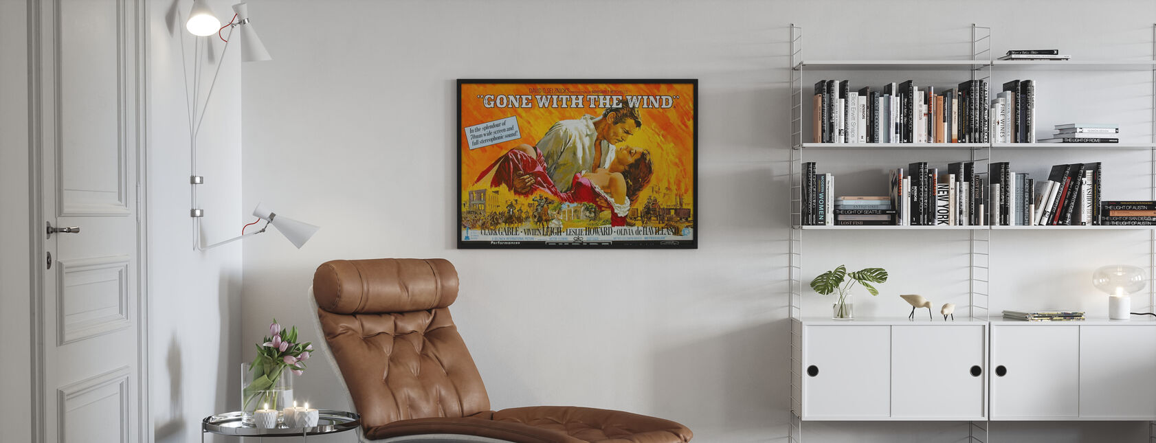 Tuulen viemää - Kehystetty kuva - Olohuone