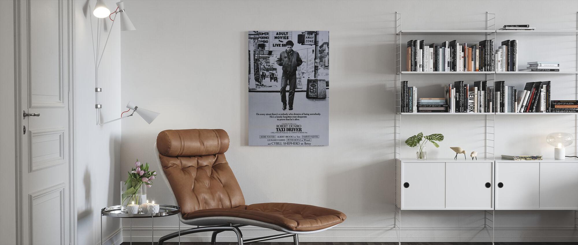 Taxi Driver - Canvas print - Living Room