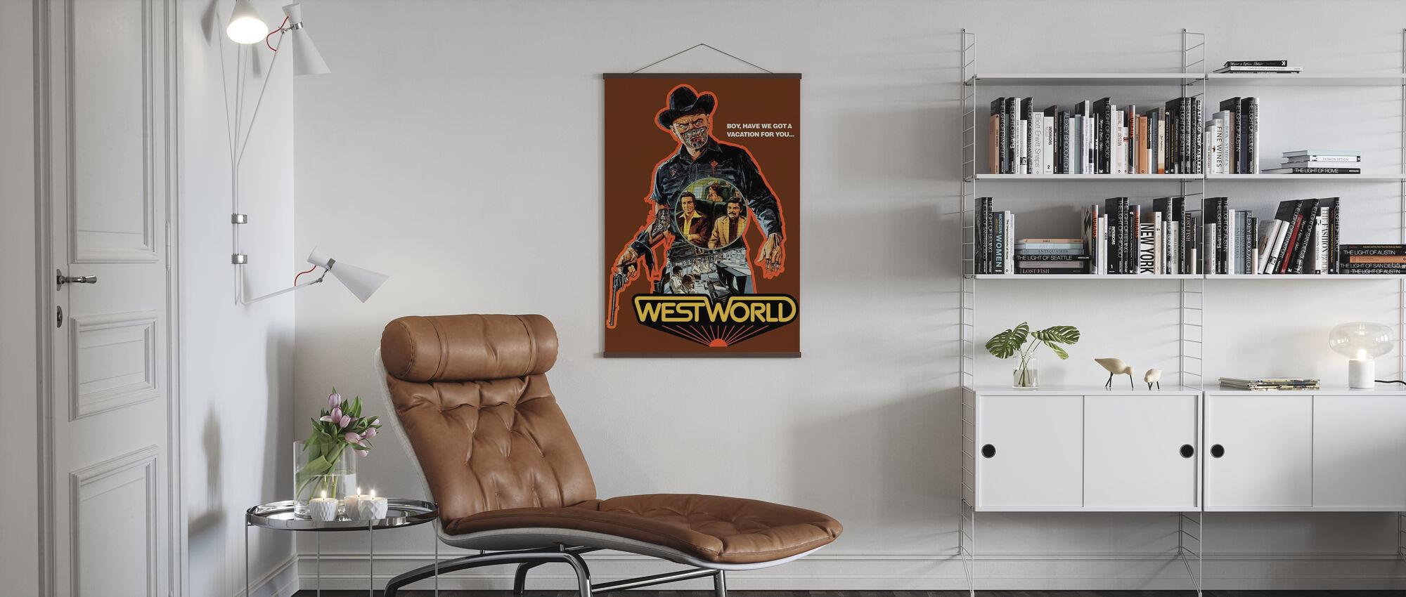 Westworld - Poster - Woonkamer