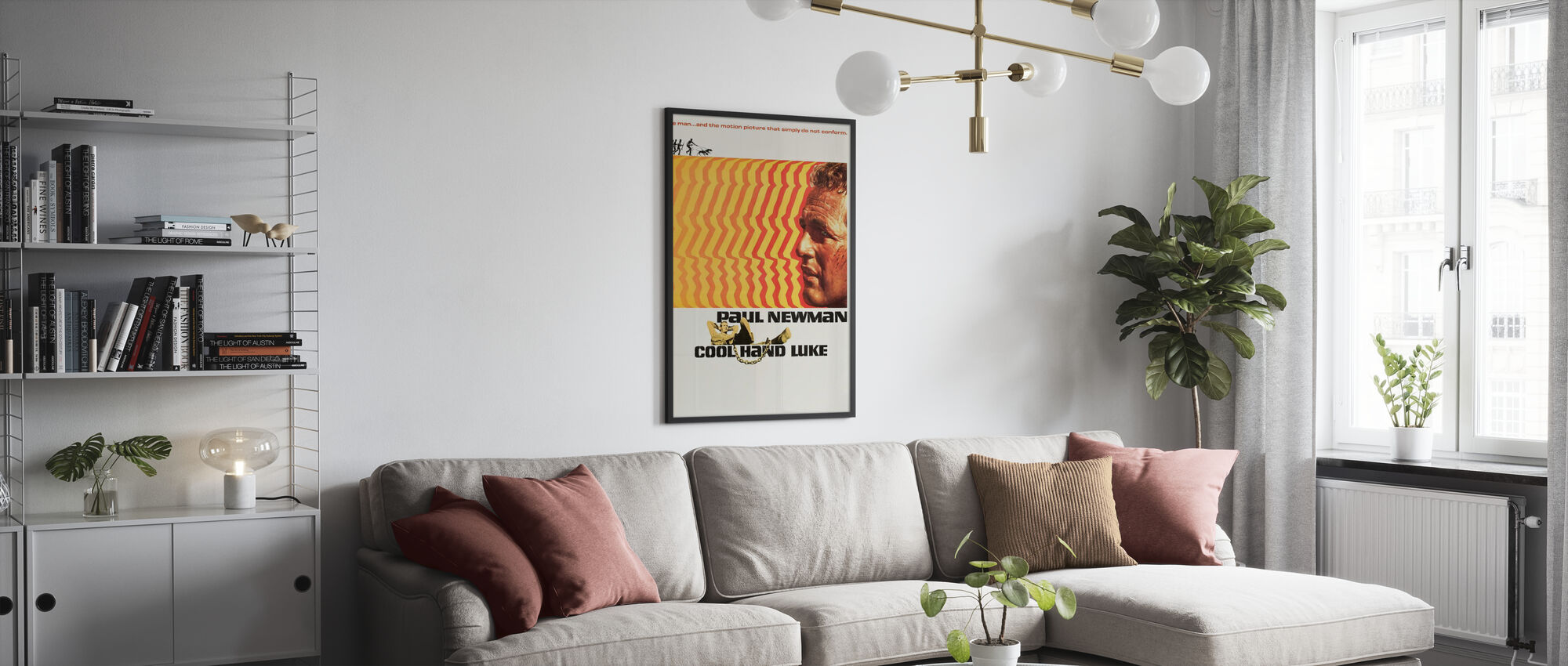 Koele Hand Luke - Poster - Woonkamer