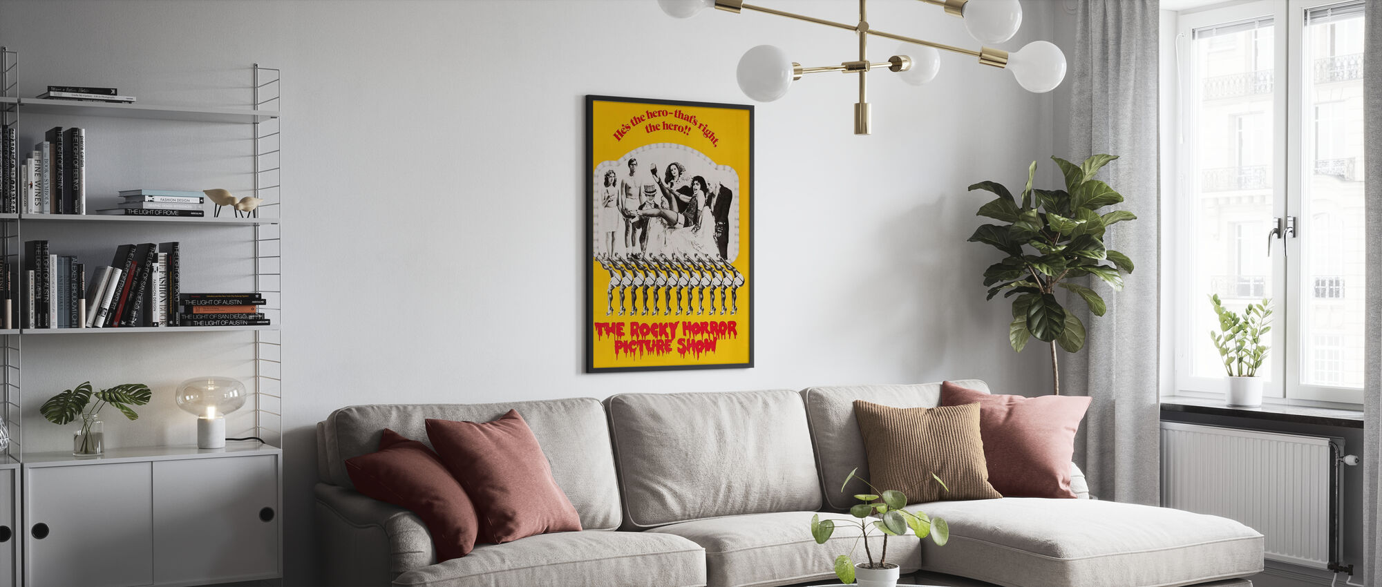Rocky Horror Picture Show - Poster - Woonkamer