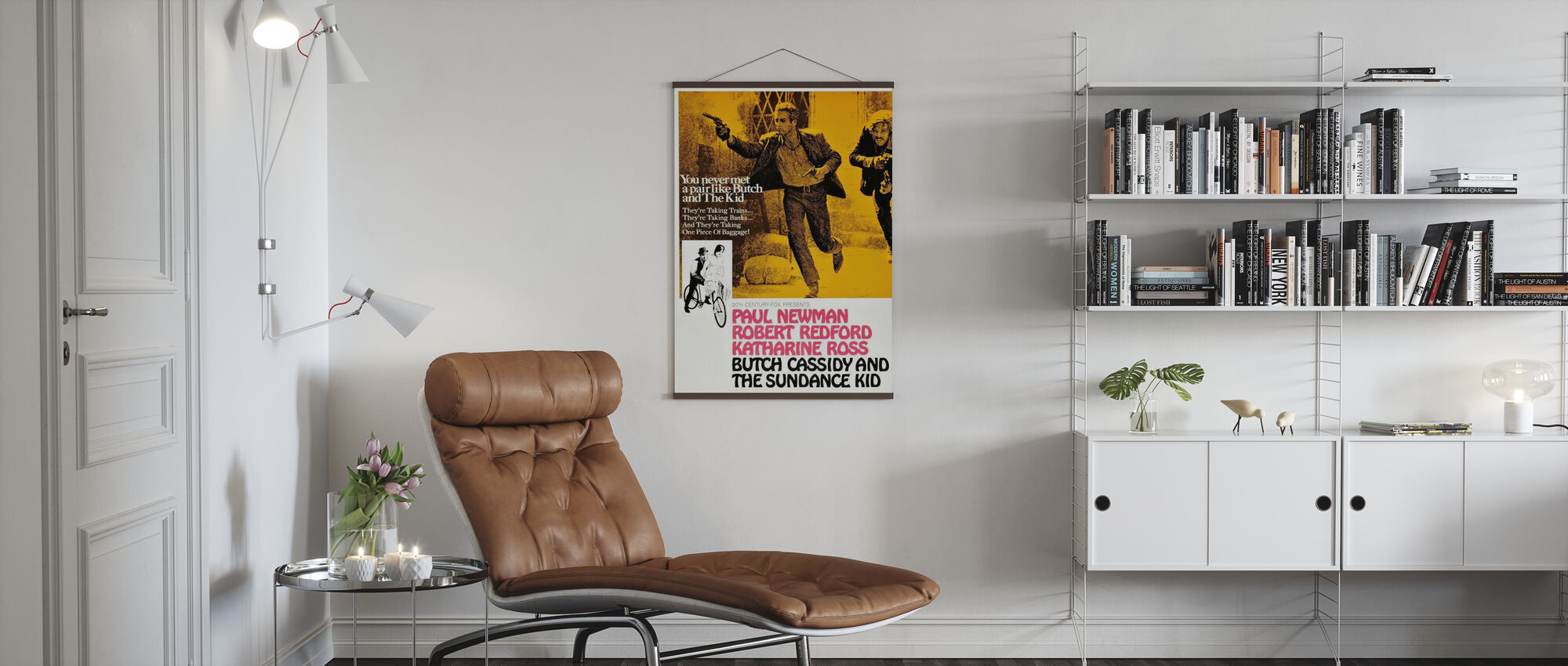 Butch Cassidy and the Sundance Kid - Poster - Living Room