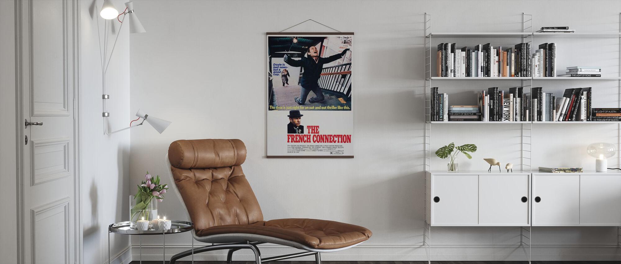 Franse verbinding - Poster - Woonkamer