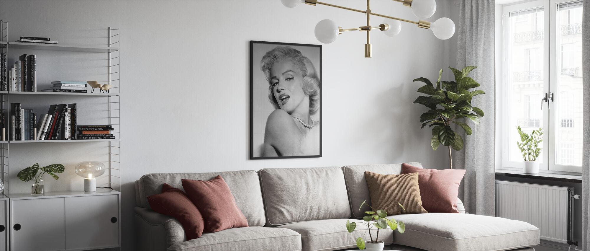 Marilyn Monroe II - Poster - Vardagsrum