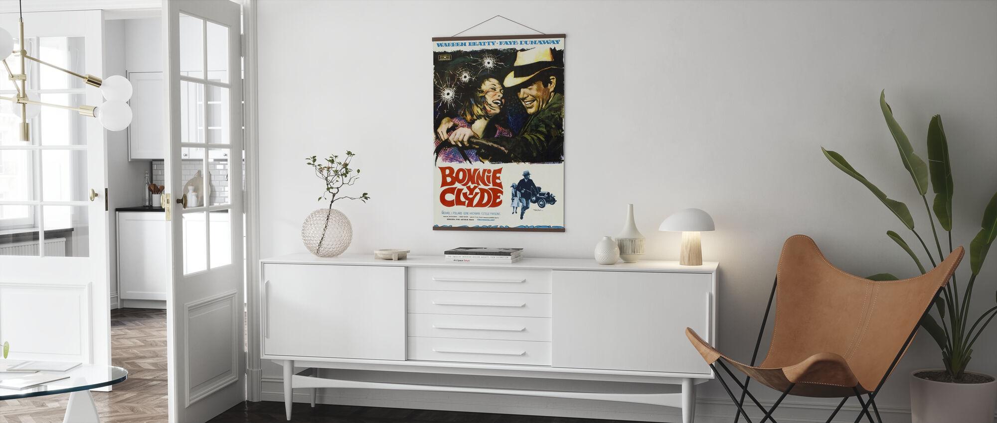 Bonnie en Clyde II - Poster - Woonkamer