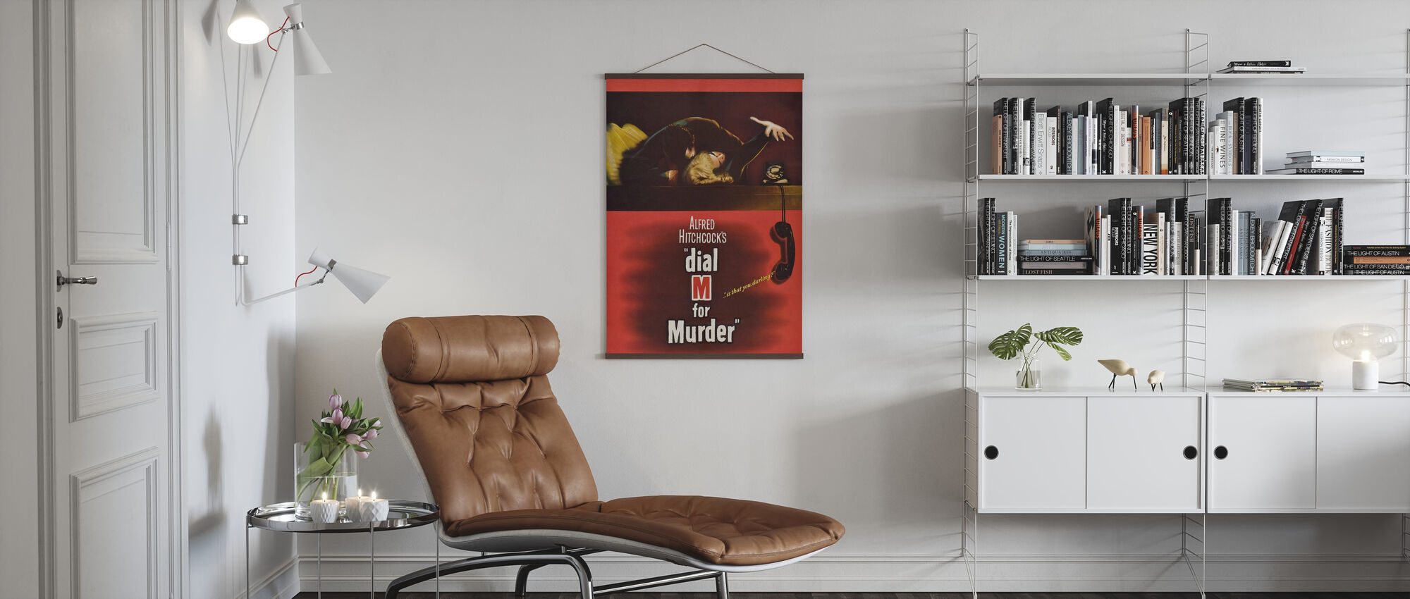 Wijzerplaat M voor Murder II - Poster - Woonkamer