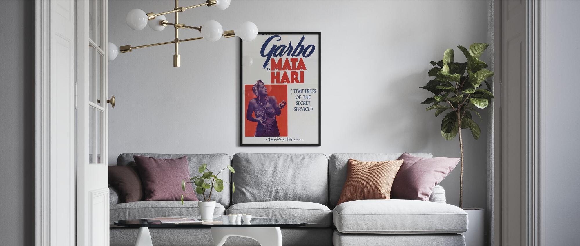 Mata Hari - Poster - Woonkamer