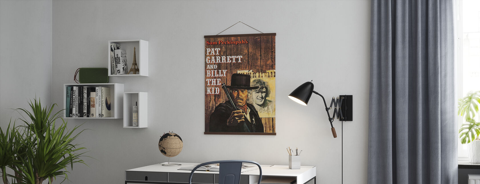 Pat Garrett i Billy Kid - Plakat - Biuro