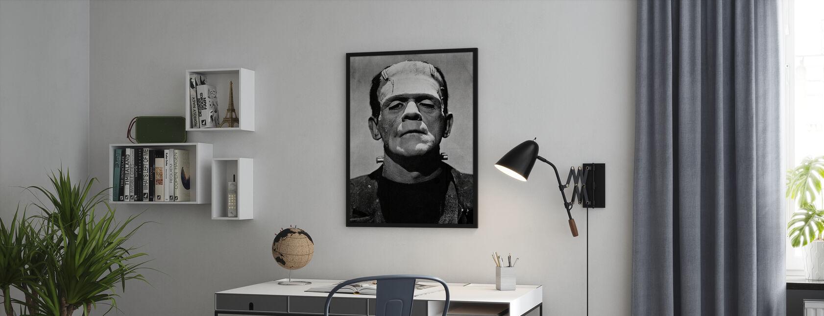 Frankensteinin morsian - Kehystetty kuva - Toimisto