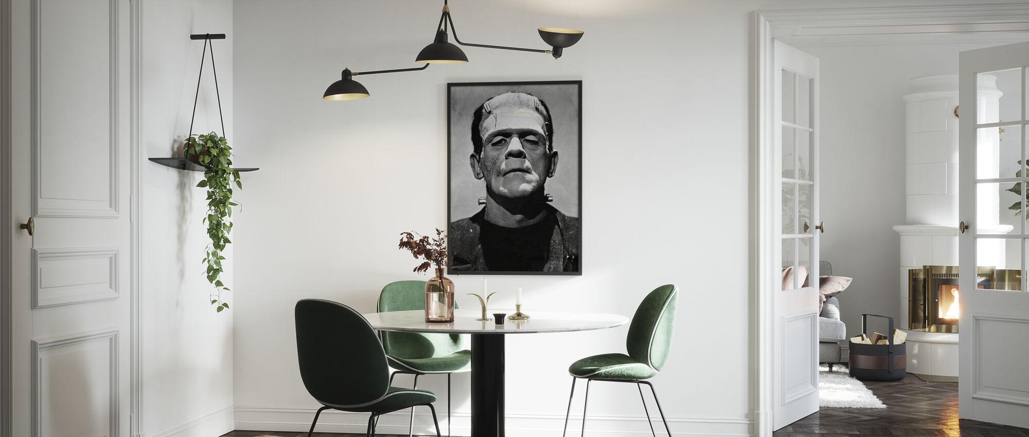 Bruid van Frankenstein - Poster - Keuken