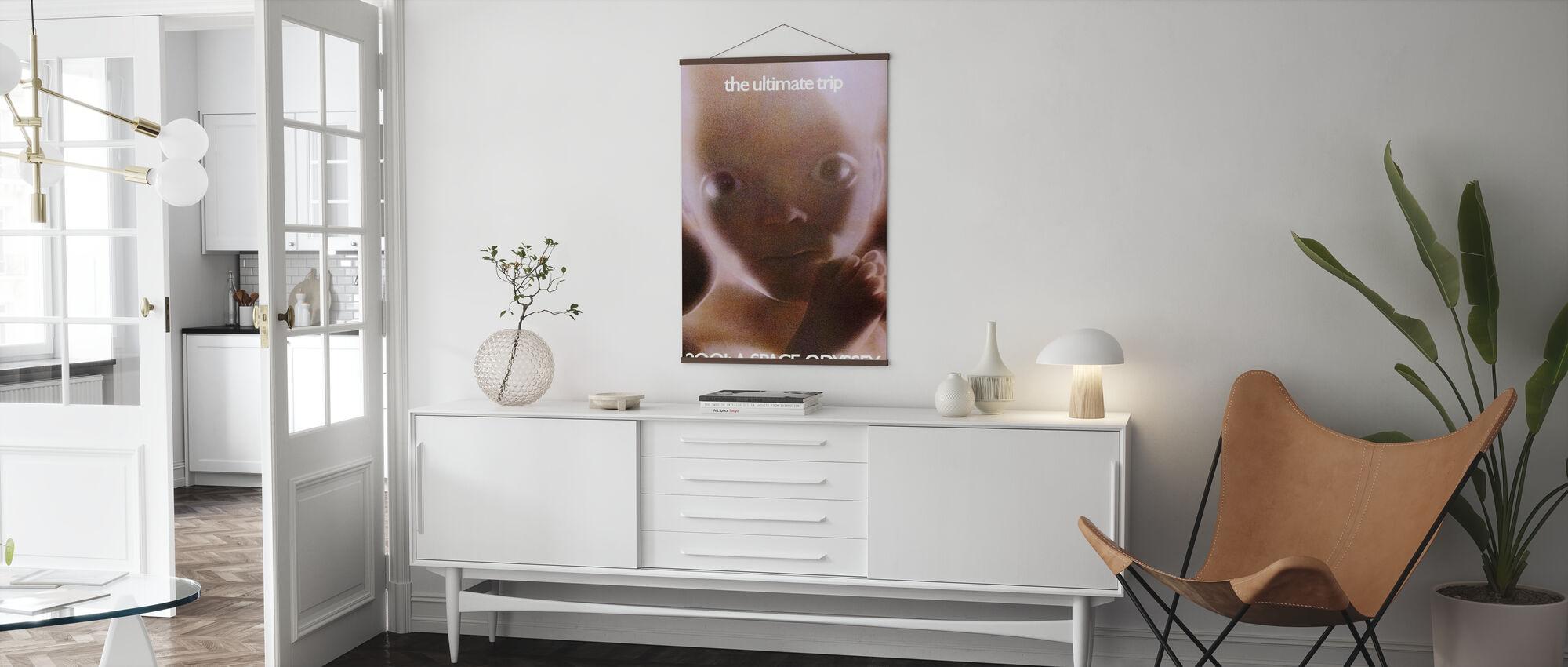 2001: Een Ruimte Odyssey - Poster - Woonkamer
